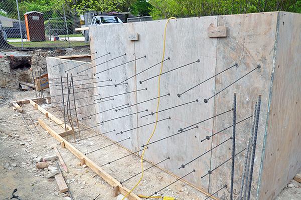 concrete formwork loose ties
