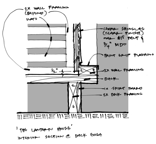 Lantern Playhouse Front detail sketch 02