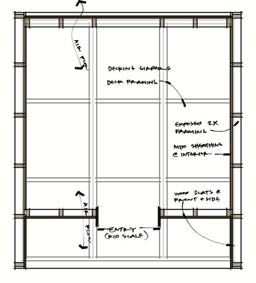 Lantern Playhouse floor plan transparent