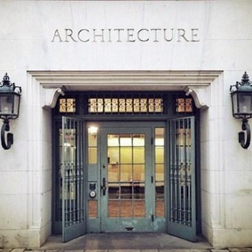 UTSOA Architecture Building Entrance