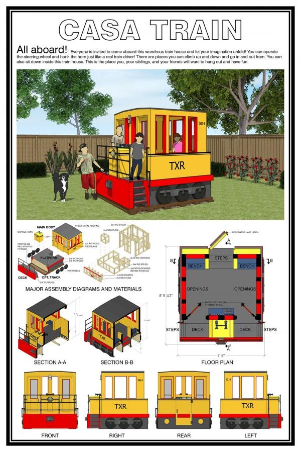 Yungche Kuo: CASA Train