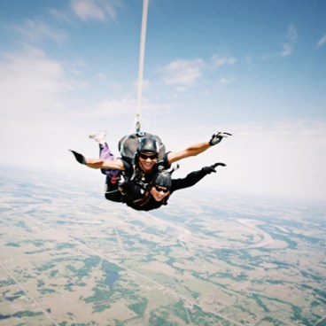 skydiving - from wikimedia commons