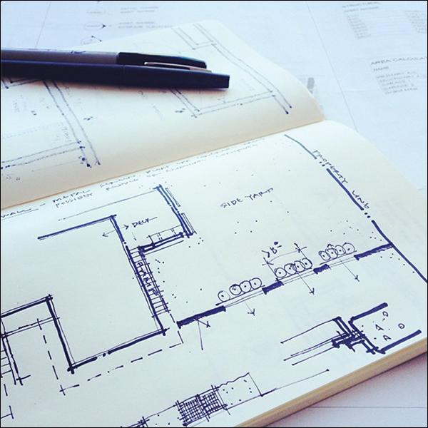 ArchiSketch Bob Borson sketch book