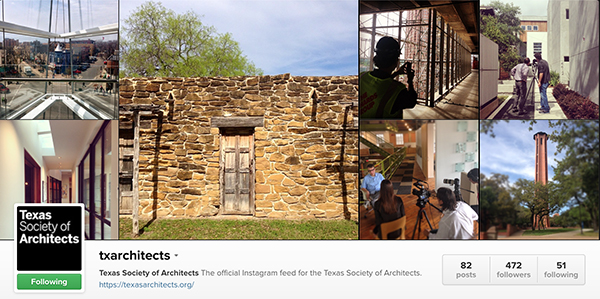 Texas Society of Architects on Instagram June 22 2014
