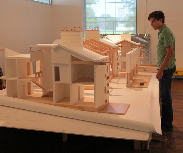 Giant Architectural House Model