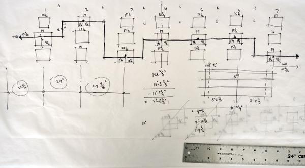 Diagramming the Glory Wall using math