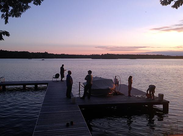 Wisonsin early evening activities