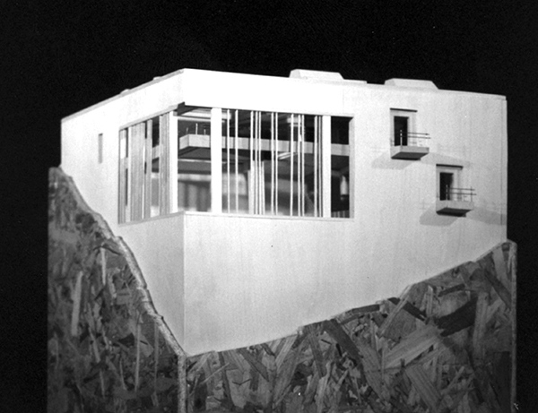 The Cube House by Bob Borson - model photo