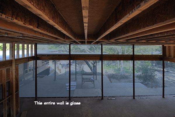 Main Living Room glass wall
