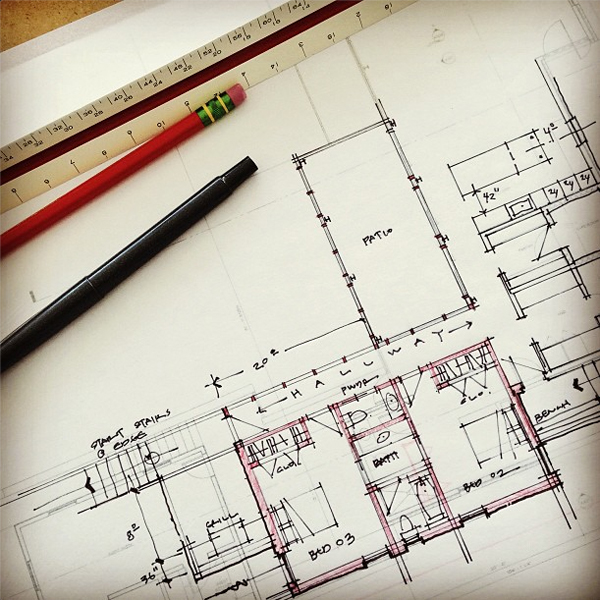 Bob Borson schematic design sketch 01