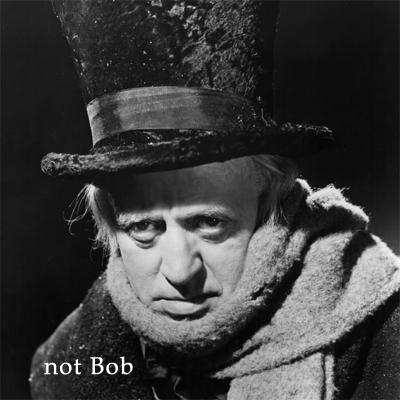 Bob Borson Ebenezer Scrooge