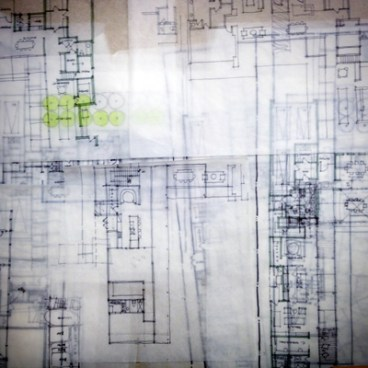 storing architectural sketches
