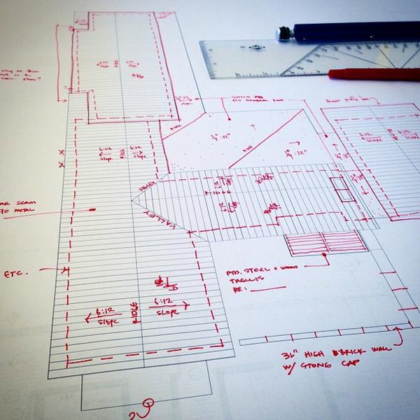 Architectural Redlines by Bob Borson