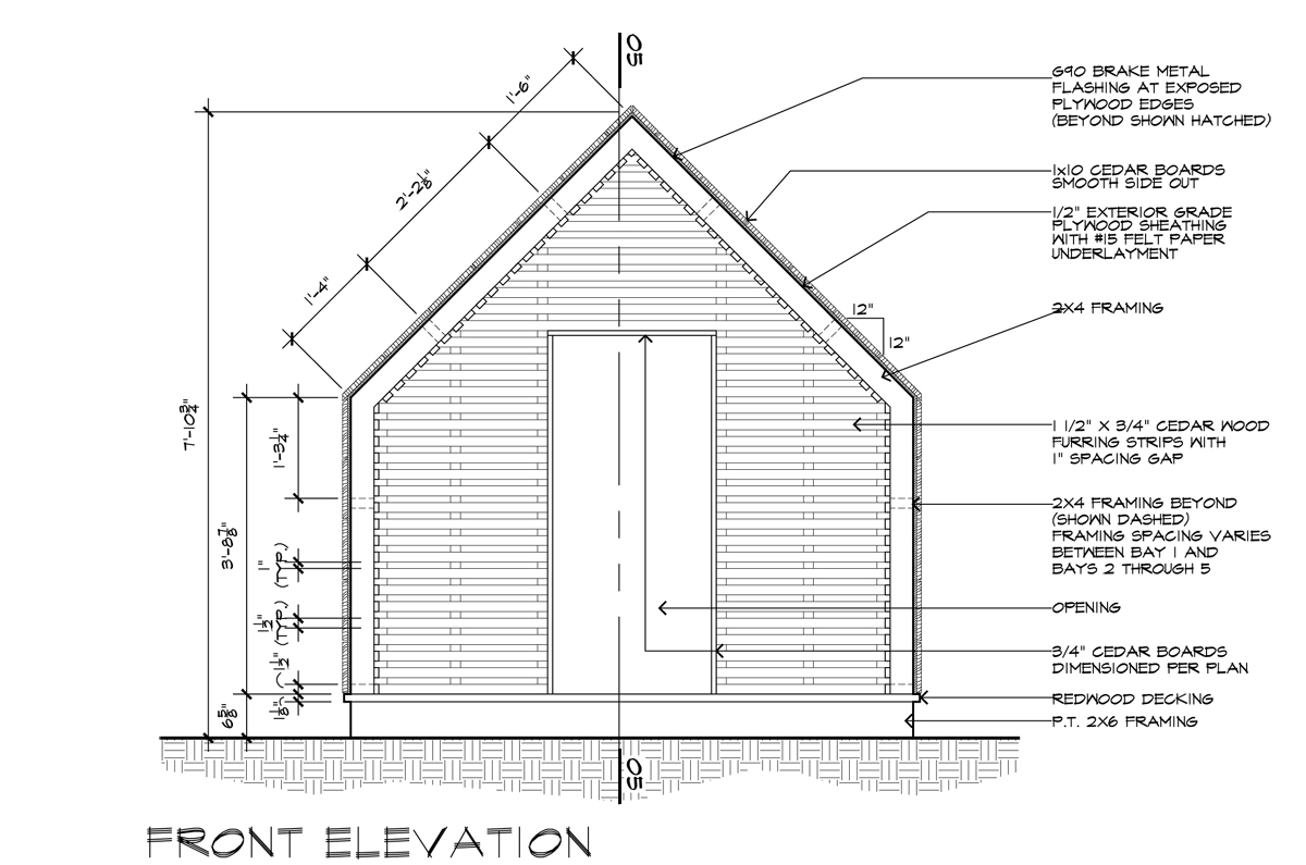 Front Elevation Design In Revit : I am an architect and draw for a living life of