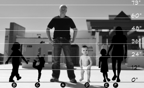 Life of an Architect Typical Scale Figures with baby