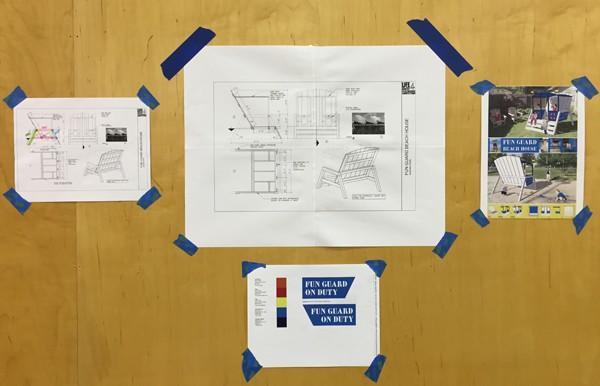 Susann Stein Fun Guard Playhouse Construction drawings