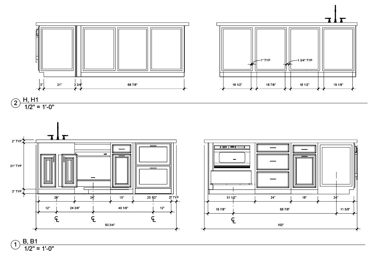 Kitchen Design Elevations students and design contests | life of an architect