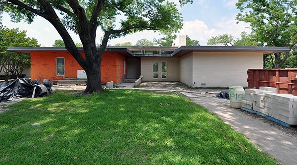 KHouse Modern Front Elevation