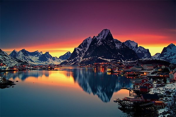Lofoten Islands, Arctic Norway photo by Christian Bothner