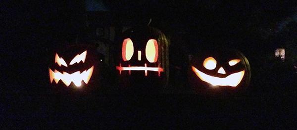 Bob Borson Halloween Pumpkins 2014
