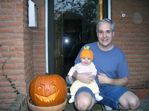 Kate and Bob Borson Halloween 2004