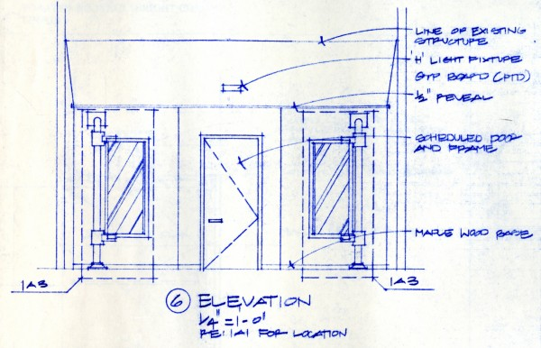 Bob Borson - Occhiali Interior Elevation 6