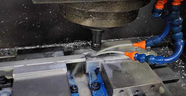 LoaA Trophy metal being engraved