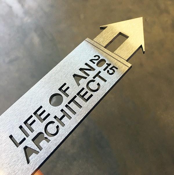 LoaA Trophy metal engraved
