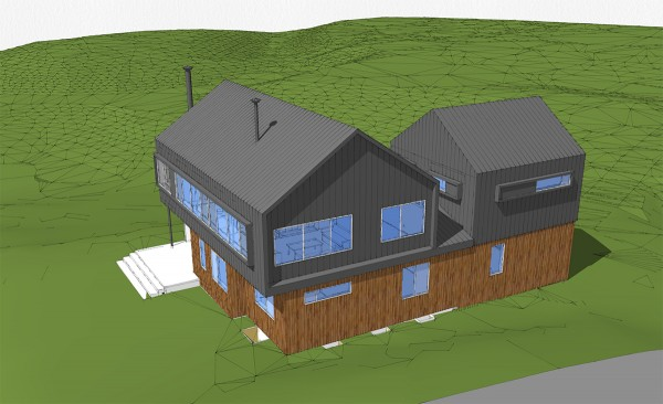 Modern Cabin Perspective 05