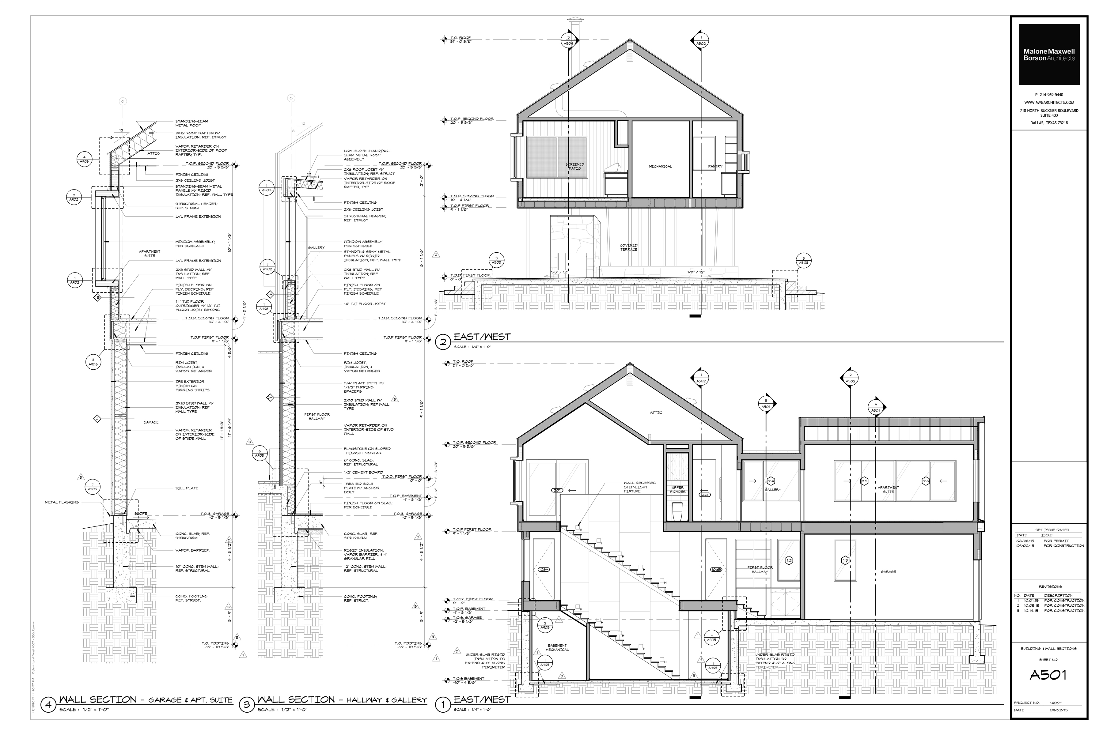 The Cabin Project Technical Drawings