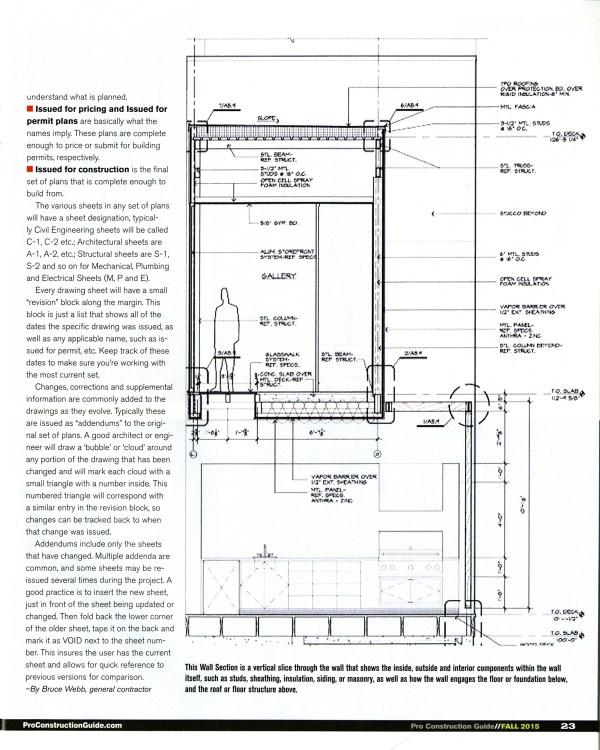 Bob Borson drawing ProConstructionGuide Fall 2015