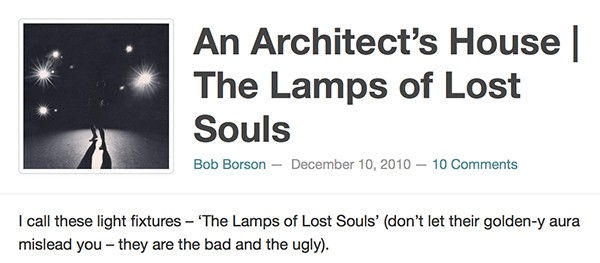 Bob Borson - The Lamp of Lost Souls