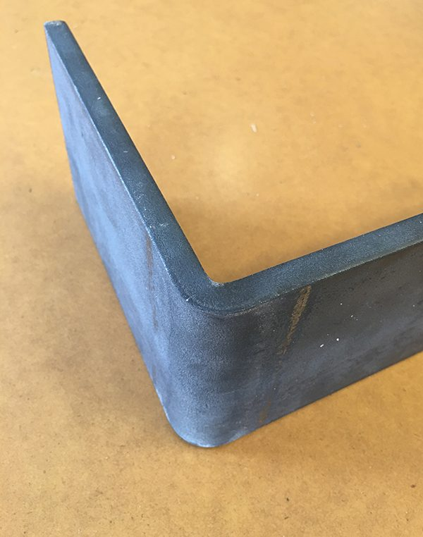 Metal Shelves bent