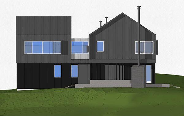 BSB North Elevation rendering