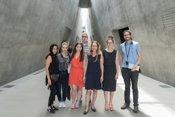 Yad Vashem with Irit Koshavi