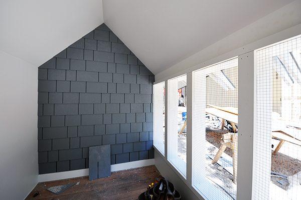 The Cottage House - Interior shingle siding