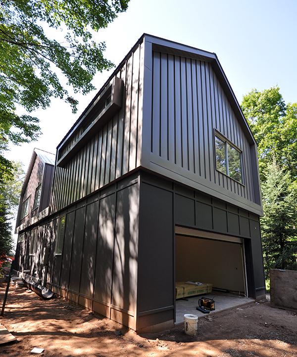 Exterior Garage elevation