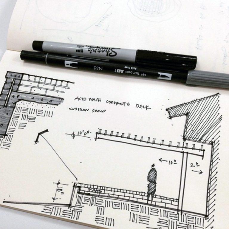 Bob Borson - trellis concept skecth