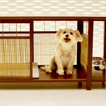 Barker Table - doghouse design by MMB Architects