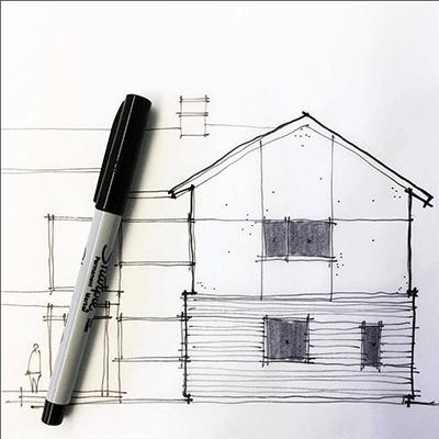 Architectural Sketches - Sketchapalooza II