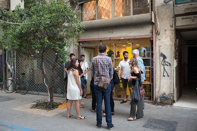 Outside Savioney Levinsky studio space