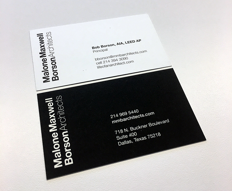 Bob Borson Business Card