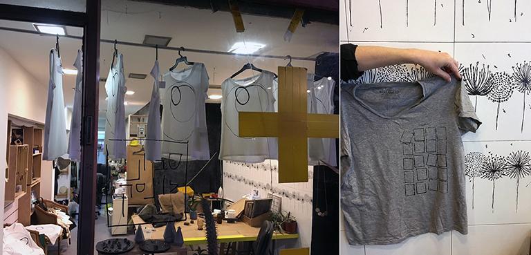Savyoney Levinsky Collaborative: Printing on cloth
