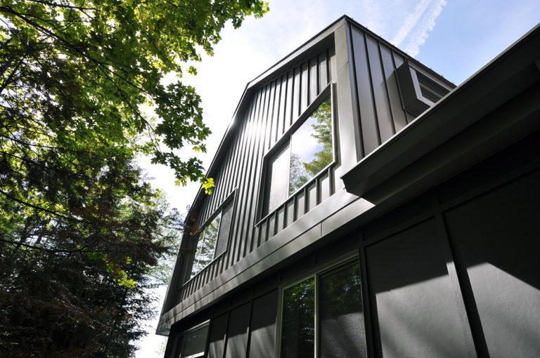 Modern Cabin front corner