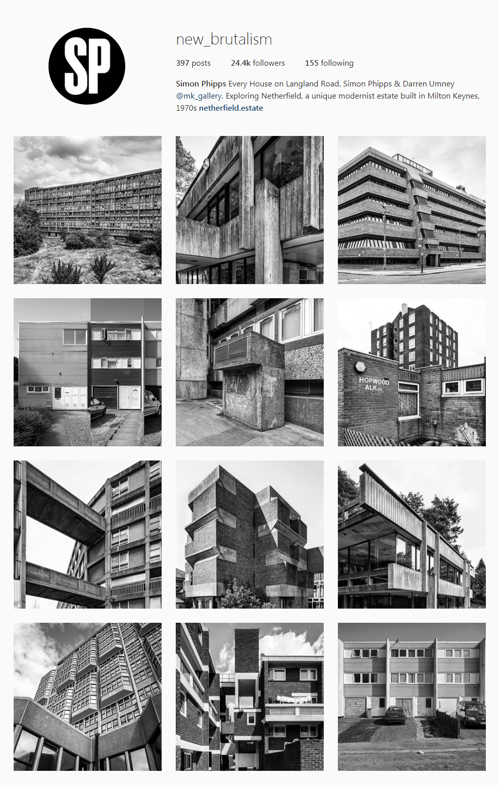 Best Architectural Instagram Feeds of 2017 - new_brutalism