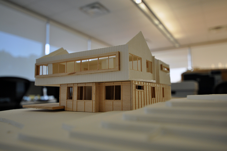 Cabin Model 02 - Malone Maxwell Borson Architects