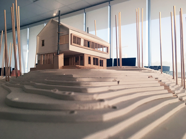 Cabin Model 06 - Malone Maxwell Borson Architects
