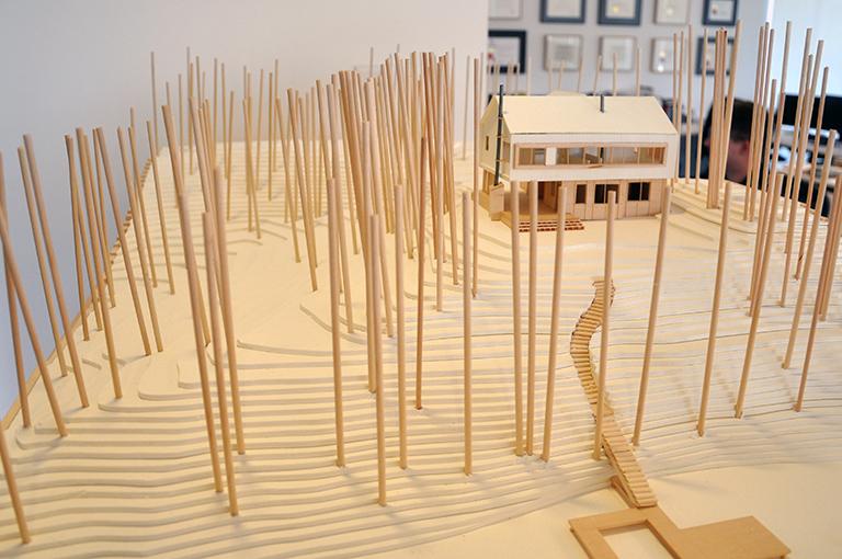 Cabin Model 11 - Malone Maxwell Borson Architects