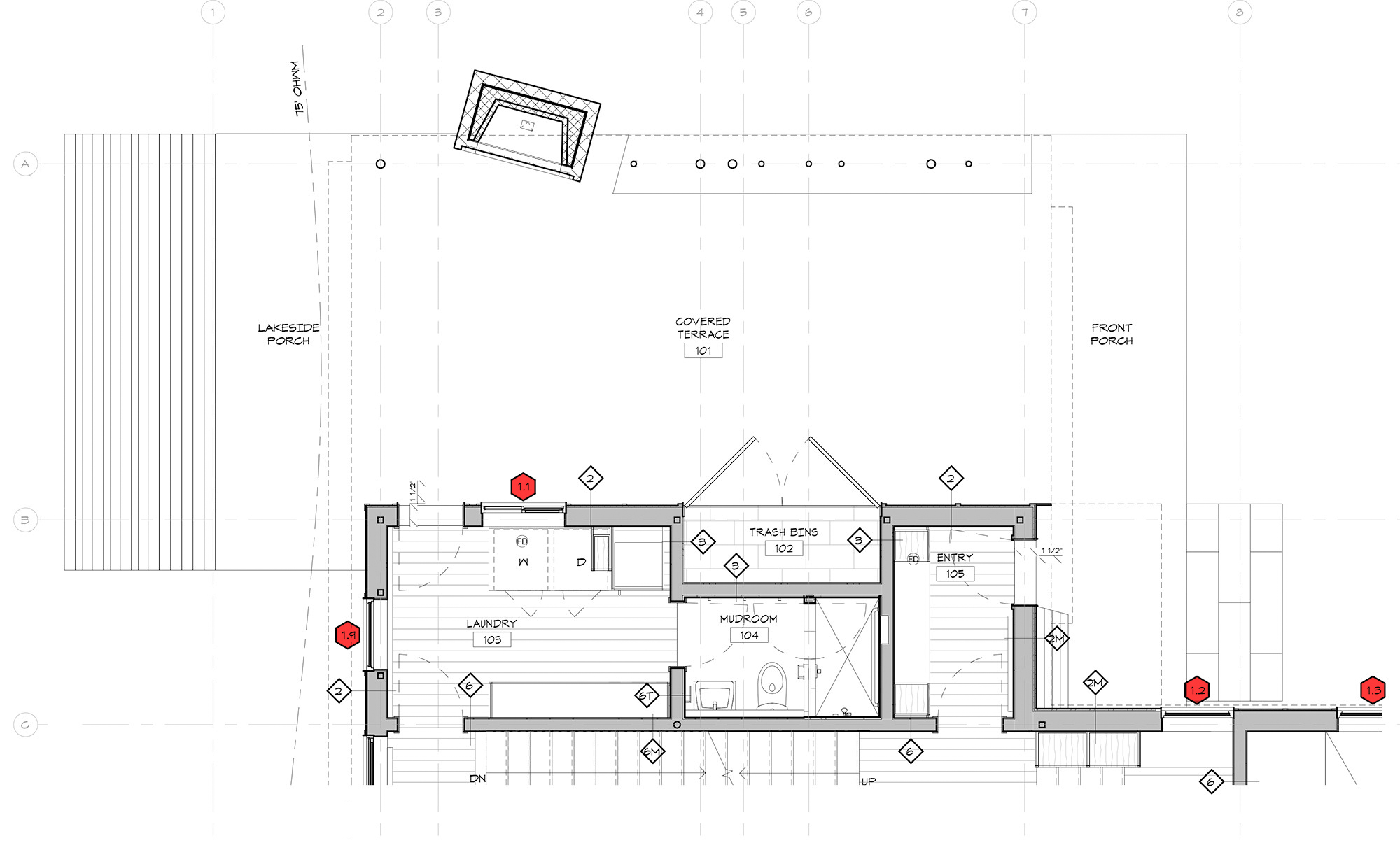 data floor plans floor plans floor plan graphic pricing plans design Architectural Graphics 101 Window Tags in Plan