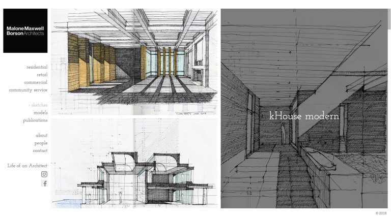 Malone Maxwell Borson Architects Sketches